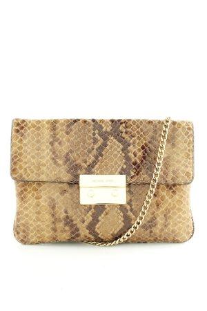 Michael Kors Shoulder Bag natural white-brown allover print casual look