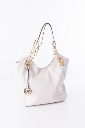 MICHAEL KORS - Schultertasche Lilly Creme