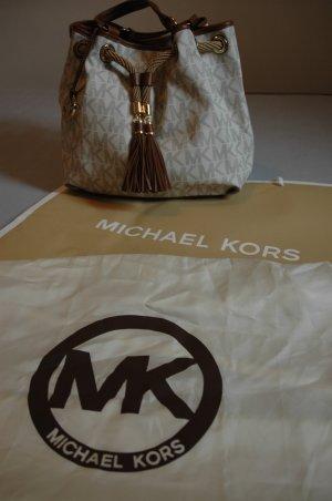 Michael Kors Schultertasche mit Logoapplikationen