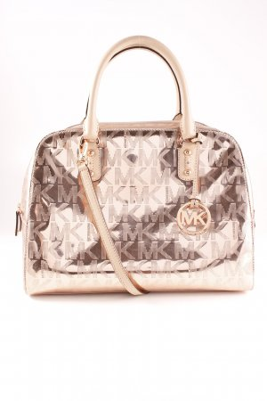 Michael Kors Shoulder Bag rose-gold-coloured-nude wet-look