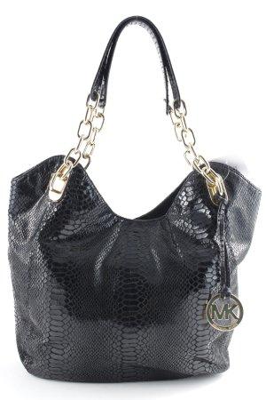 Michael Kors Shoulder Bag black-gold-colored elegant