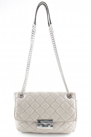 "Michael Kors Schultertasche ""Sloan LG Chain Shoulder Bag Leather Cement"""