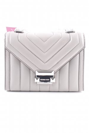 "Michael Kors Borsa a tracolla ""Whitney SM Shoulder Bag Pearl Grey"""