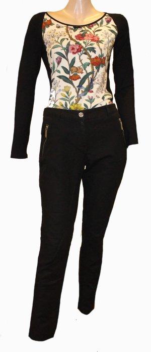 MICHAEL KORS schwarze Jeans Hose Stretch Gr. 36/38