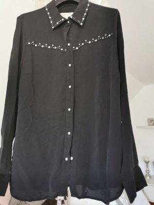 Michael Kors Blusa in seta nero