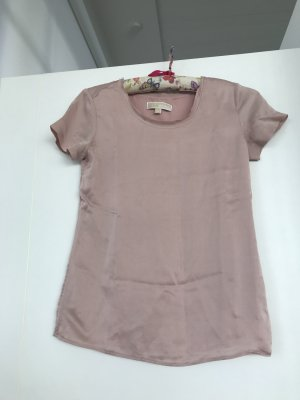 Michael Kors Basic Top dusky pink silk