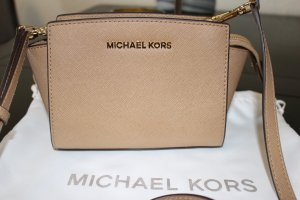 Michael Kors Crossbody bag light brown leather