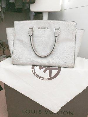 Michael Kors Handbag silver-colored-light grey