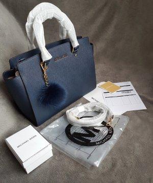 Michael Kors Selma LG Navy Marineblau + Pom ♥