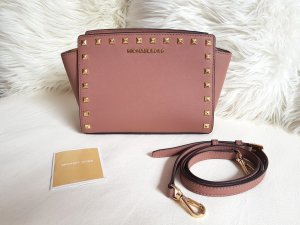 Michael Kors Selma MD Messenger Dusty Rose Stud Nieten