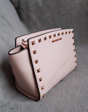 Michael Kors Selma MD Messenger Soft Pink Rosegold Stud Nieten ♥