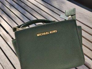 Michael Kors Bandolera verde oscuro