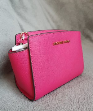 Michael Kors Selma Mini Messenger Ultra Pink ♥