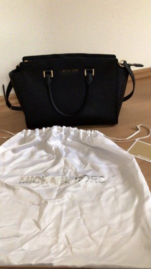 Michael Kors Carry Bag black leather