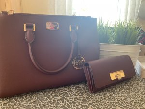 MICHAEL KORS Set Handtasche & Portemonnaie