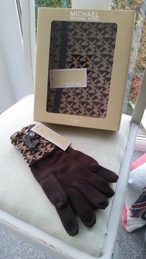 Michael Kors Set Schal & Handschuhe