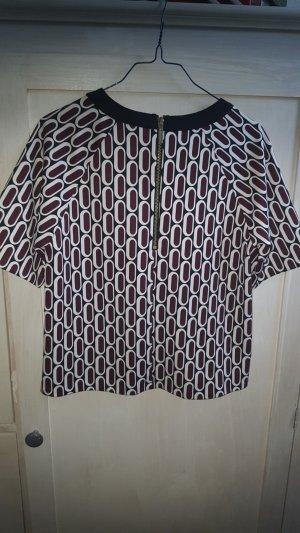 Michael Kors Short Sleeve Sweater black polyester