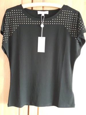 Michael Kors Shirt Schwarz Gold Neu mit Etikett Gr. M