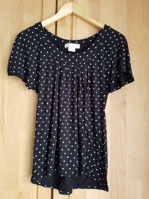 Michael Kors Empire shirt zwart-wit