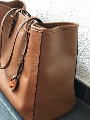 Michael Kors Shopper cognac-coloured-brown leather