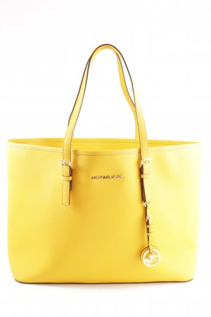 Michael Kors Shopper blassgelb Business-Look