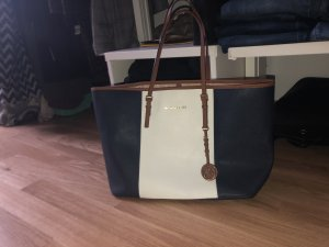 Michael Kors Shopper blau weiß