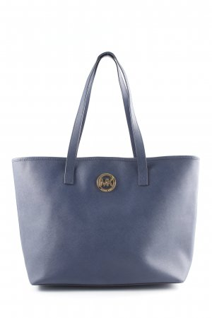 Michael Kors Shopper braun-dunkelblau schlichter Stil