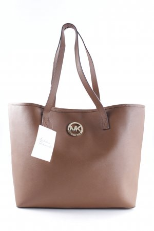 Michael Kors Shopper cognac Street-Fashion-Look