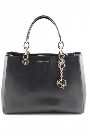 "Michael Kors Shopper ""Cynthia MD Dressy Satchel Bag Black"" noir"