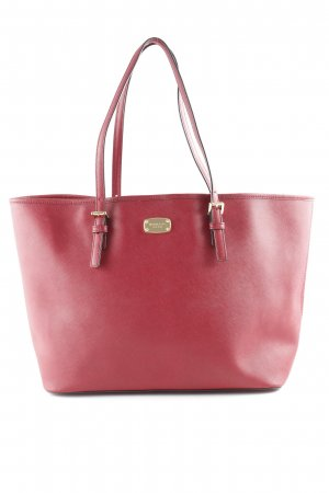 Michael Kors Shopper dunkelrot Business-Look