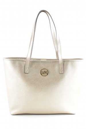 Michael Kors Borsa shopper oro stile universitario