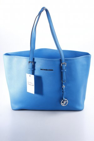 Michael Kors Shopper hellblau Business-Look