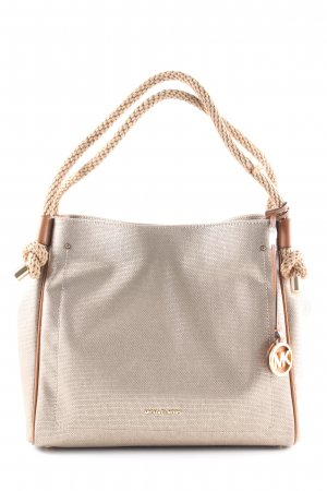 "Michael Kors Shopper ""Isla LG Grab Bag Pale Gold"" graubraun"