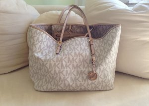 MICHAEL KORS Shopper JET SET TRAVEL LARGE VANILLA