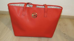 Michael Kors Shopper orange foncé nylon