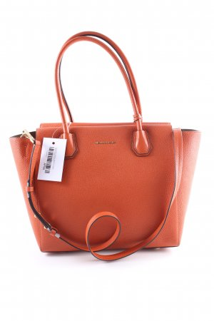 "Michael Kors Shopper ""Mercer LG Leather Satchel Orange"" dunkelrot"
