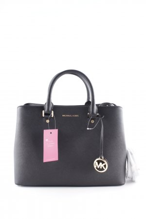 "Michael Kors Shopper ""Savannah LG Leather Satchel Black"" schwarz"