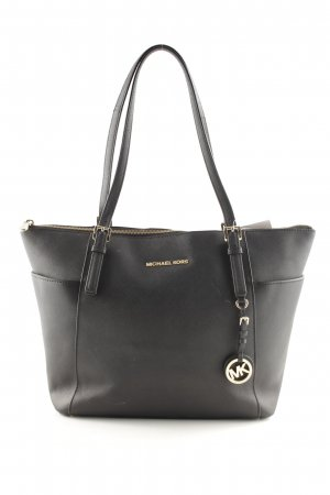 Michael Kors Shopper schwarz-goldfarben Casual-Look