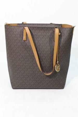 Michael Kors Shopper brown imitation leather