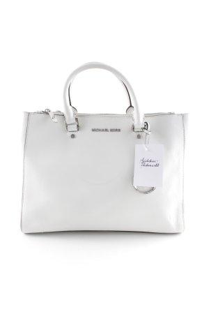 Michael Kors Borsa shopper bianco-argento stile casual