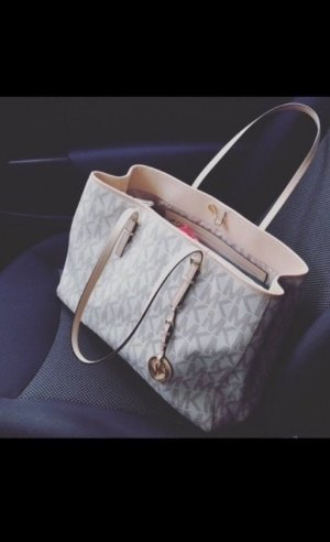Michael Kors Shopper White Grey