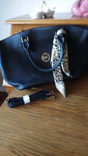 Michael Kors Shopper noir cuir