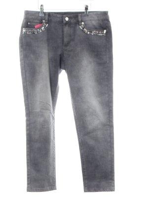 Michael Kors Skinny Jeans hellgrau Casual-Look