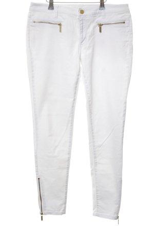 Michael Kors Skinny Jeans weiß Casual-Look