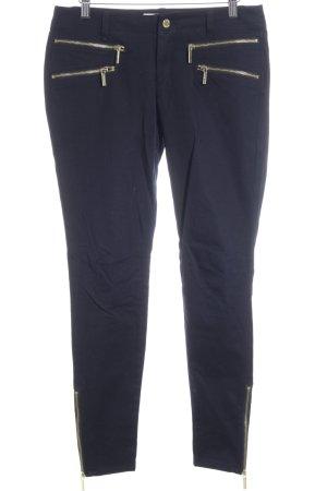 Michael Kors Slim Jeans dunkelblau-goldfarben Casual-Look