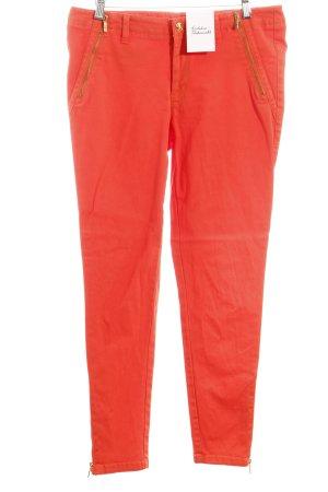 Michael Kors Slim Jeans lachs-goldfarben extravaganter Stil
