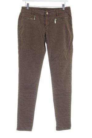 Michael Kors Slim Jeans olivgrün Casual-Look