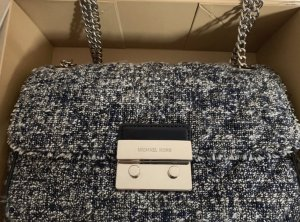 Michael Kors Sloan Admiral Tweed inklusive dustbag und MK Box