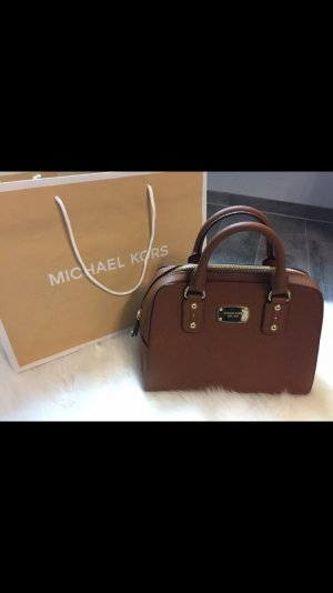Michael Kors SM Satchel Saffiano Leather