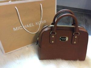 Michael Kors SM Satchel Saffiano Leather